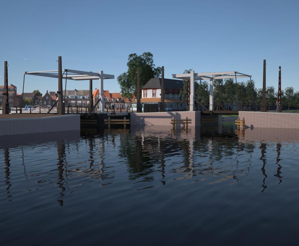 Bruggetjes waterfront