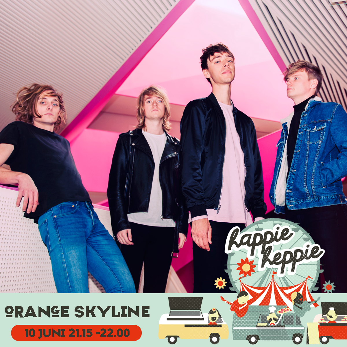 Orange-Skyline